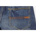 Calça Jeans Adidas listras laranja 0175-EL
