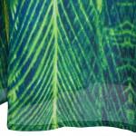 Vestido longo com Malha Bordado, Strapless, Lantejoulas Vestido de noite e casamento cor verde 1090