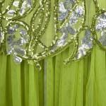 Vestido de Noite Abendkleid Strapless Lantejoulas, Festa Casamento 1114