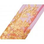 Vestido de Noite Bordado Apliques Manga Longa, Festa Casamento 1113