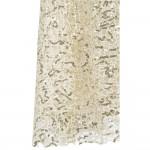 Vestido longo de Noite festa estilo sereia Lantejoulas V neck 1097
