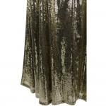 Vestido Longo  Beading Estilo Sereia com Lantejoulas. Vestido de Noite robe de soiree Ouro 1136