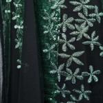 Vestido Longo Bordado Lantejoulas Estilo Sereia Vestido de Noite Longo robe de soirée  Vestido para festa e Casamento 1152