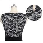 Vestido Estilo europeu feminino, Vestido faschion 1068