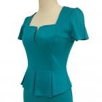 Vestido Estilo europeu feminino, Vestido para senhora elegante 1070