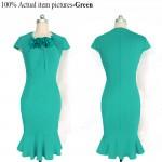 Vestido Moda outono, estilo europeu vestido de verão 1061