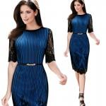 vestido fino e elegante para festa ou uso casual 1053