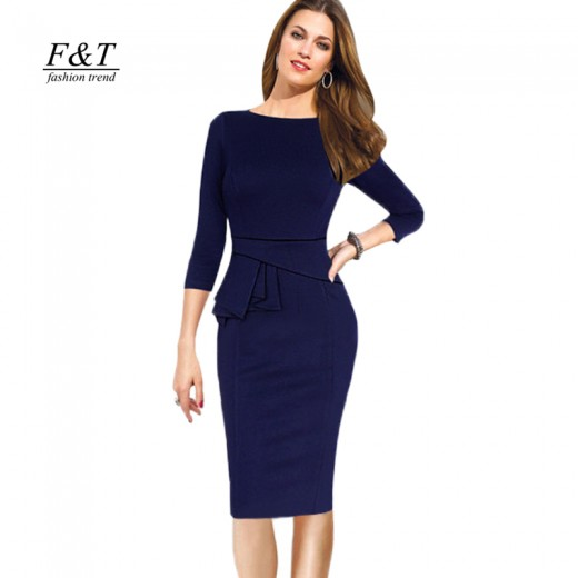 Vestido Estilo europeu feminino, Vestido faschion 1067