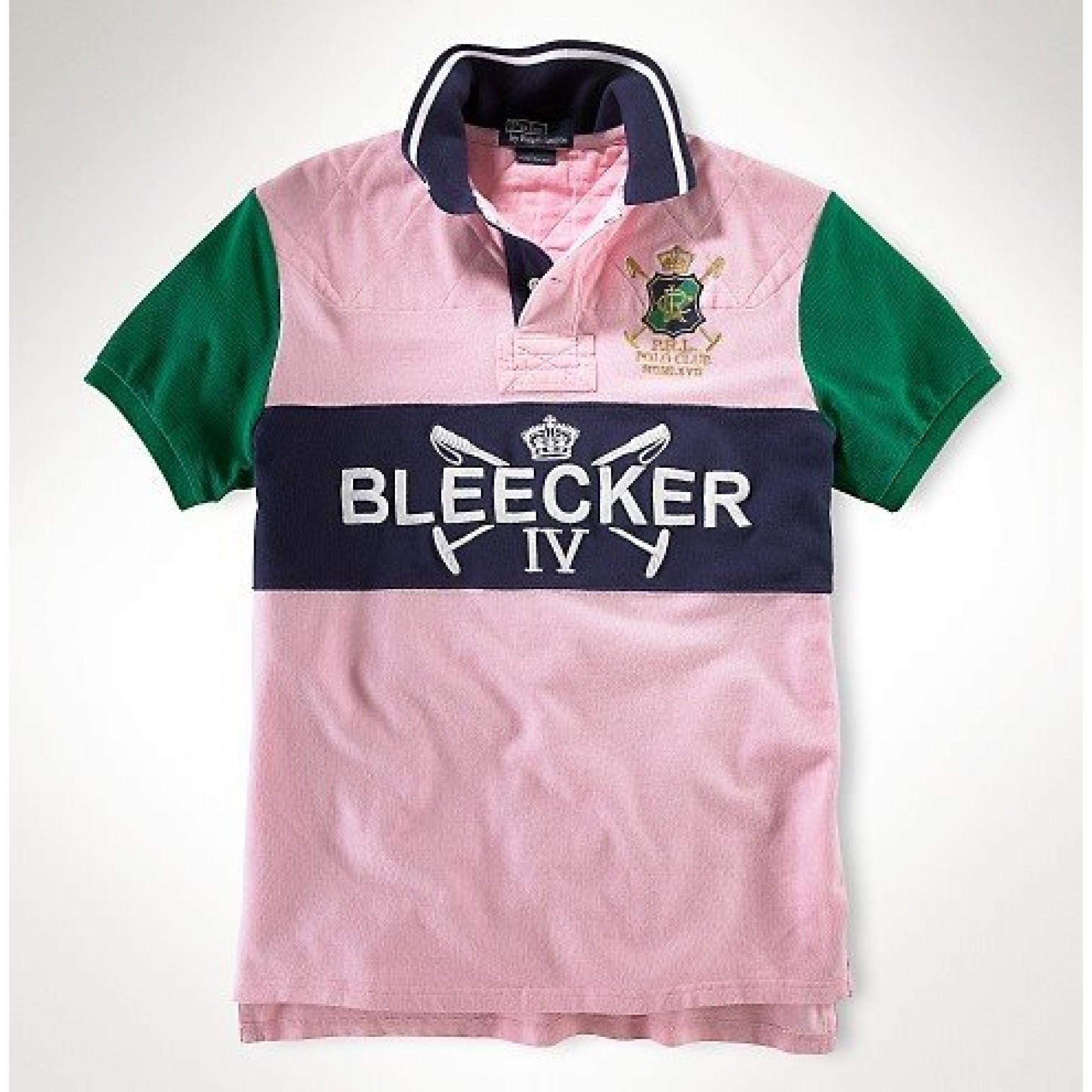 Camisa Polo Rosa Claro Ralph Lauren - Cod 0105 0a6d3a9d539