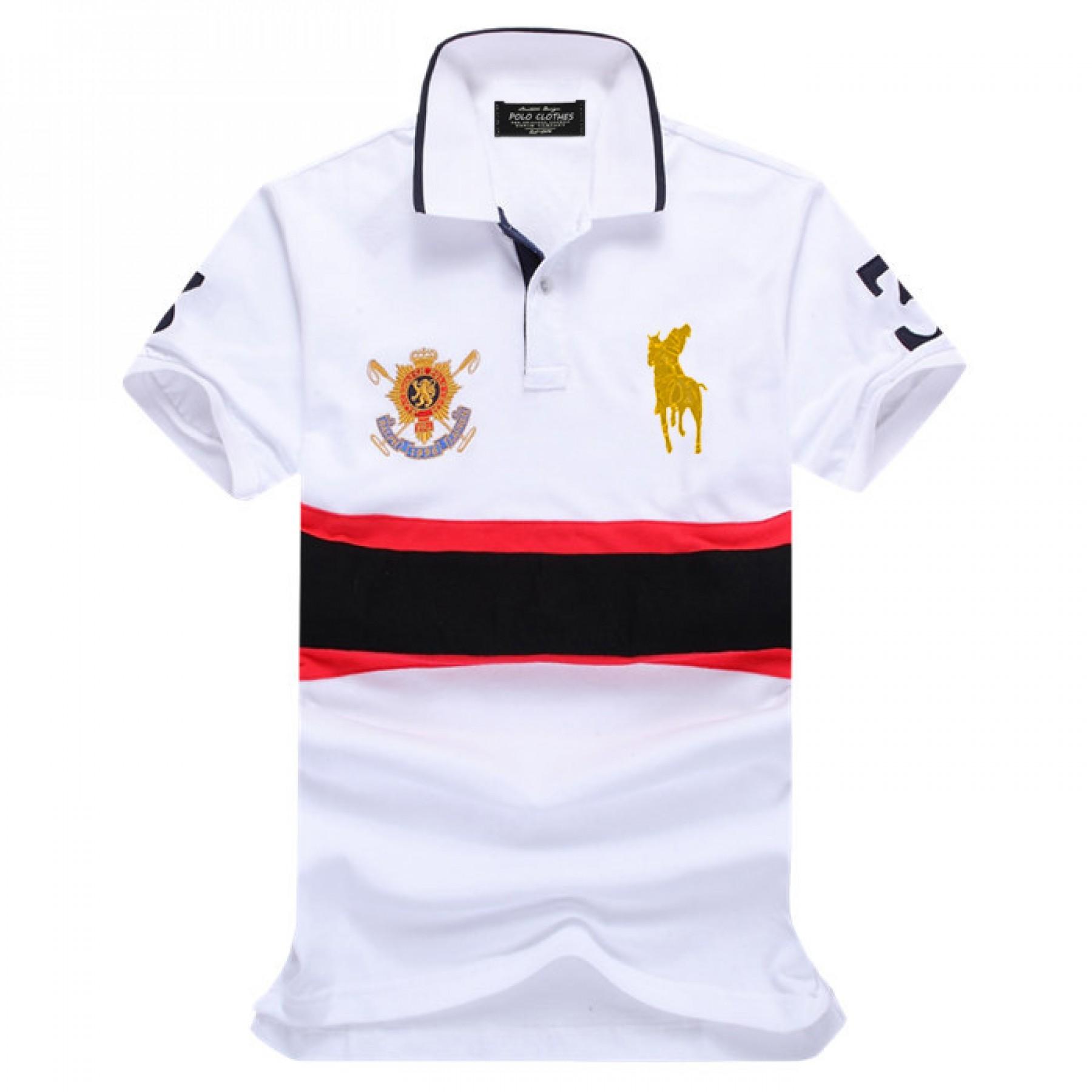 Camisa Polo Masculino Ralph Lauren com Bordados Cod 0528 a9d218e18a0