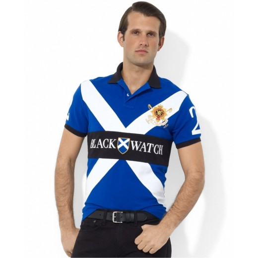 Camisa Polo Masculino RL com Bordados Cod 0530