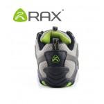 Tênis de caminhada couro unissex marca Rax antiderrapante  0770