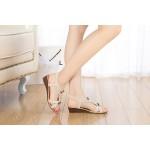 Sandália rasteira Flip flop estilo gladiador 0841