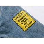 Jaqueta jeans lavado estilo militar   Cod 0631