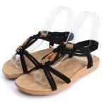 Sandália rasteira material para mulher 2 cores 0825