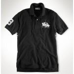 Camisa Polo Preta Ralph Lauren - Cod 0106