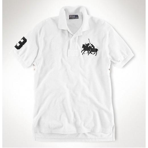 Camisa Polo Branca Ralph Lauren - Cod 0104