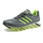 Tênis Adidas SpringBlade Cinza Verde Limão Cod 0268