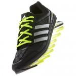 Tênis Adidas SpringBlade Masculino Cinza Verde Limão Cod 0276
