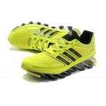 Tênis Adidas SpringBlade Masculino amarelo e Preto Cod 0278