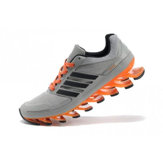 Tênis Adidas SpringBlade Masculino Cinza e Laranja Cod 0282
