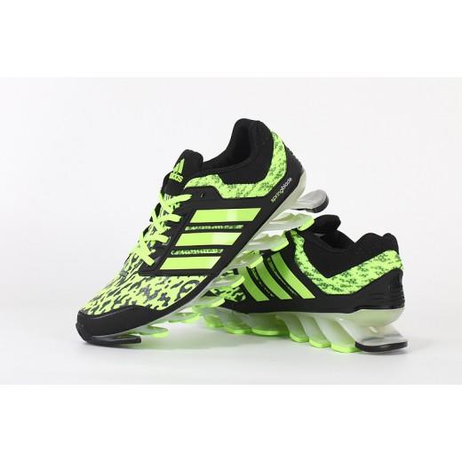 Tênis Adidas SpringBlade Drive Masculino Cor Verde Limão e Preto Cod 0459