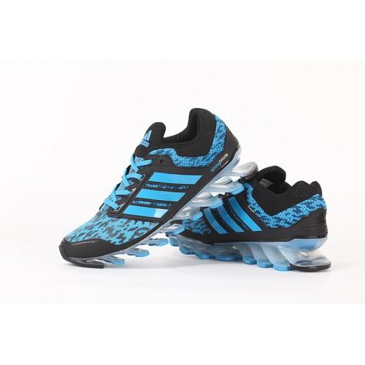 Tênis Adidas SpringBlade Drive Masculino Cor Azul Celeste e Preto Cod 0460