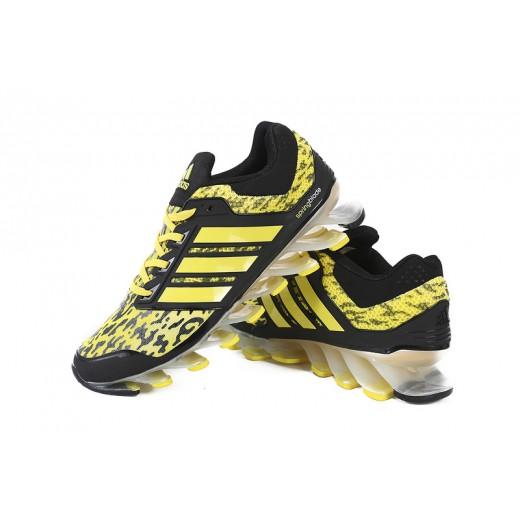 Tênis Adidas SpringBlade Drive Masculino Cor Amarelo e Preto Cod 0461