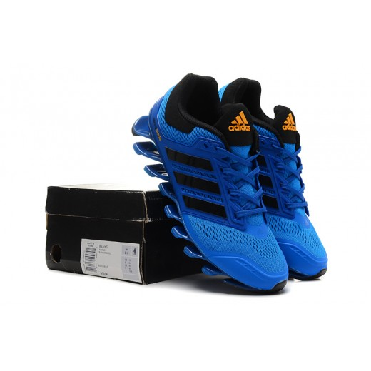 Tênis Adidas SpringBlade Drive Masculino Cor Azul Escuro e Preto Cod 0465