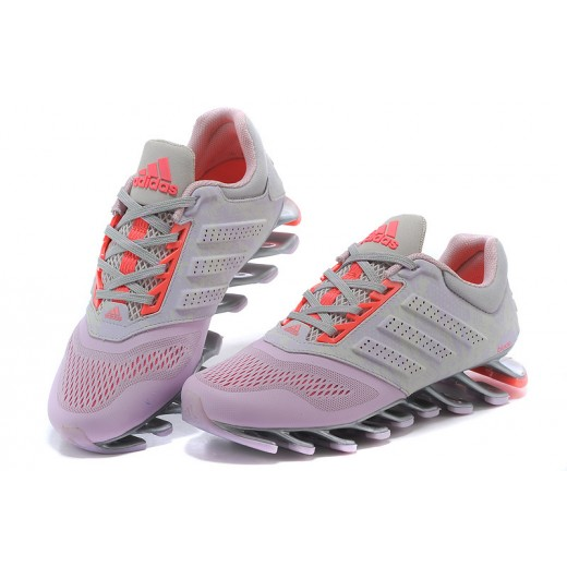 meet 2e966 d01e3 Tênis Adidas SpringBlade Drive 2.0 Feminino Cor Cinza Claro e Rosa