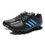Tênis Adidas SpringBlade Preto Azul  - Cod 0256