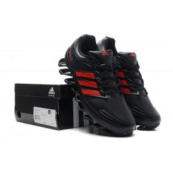 39a7d40729a Tênis Adidas SpringBlade Preto Vermelho - Cod 0257
