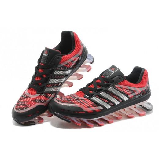 Tênis Adidas SpringBlade Vermelho Cinza Escuro Cod 0260 b02ff786aa247