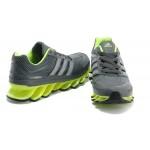 Tênis Adidas SpringBlade Masculino Cinza e Verde Limão Cod 0264