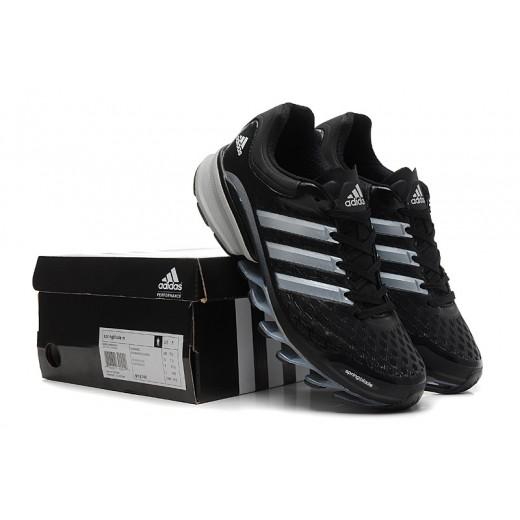 Tênis Adidas SpringBlade FF Masculino Preto e Prata Cod 0378
