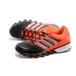 Tênis Adidas SpringBlade FF Unissex Laranja e Preto Cod 0395