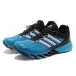 Tênis Adidas SpringBlade FF Masculino Azul Celeste e Preto Cod 0380
