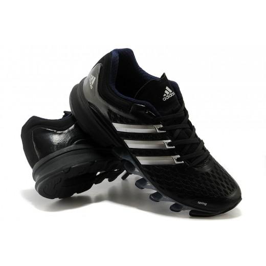 Tênis Adidas SpringBlade FF Masculino Preto e Azul Marinho Cod 0383