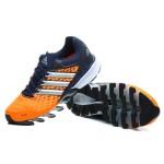 Tênis Adidas SpringBlade FF Masculino Laranja e Azul Marinho Cod 0384