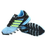 Tênis Adidas SpringBlade FF Masculino Preto Azul e Verde Cod 0385