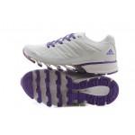 Tênis Adidas SpringBlade FF Feminino Branco e Roxo Cod 0387