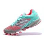 Tênis Adidas SpringBlade FF Feminino Verde Jade Rosa e Cinza Cod 0388