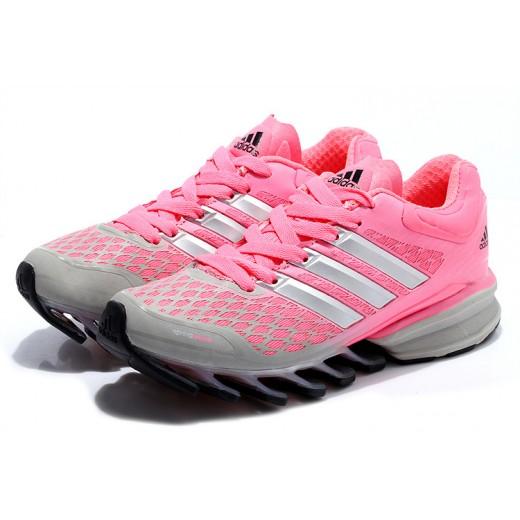 76e9b4682f4 Tênis Adidas SpringBlade FF Feminino Rosa e Cinza Cod 0389