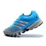 Tênis Adidas SpringBlade FF Feminino Azul Claroe Cinza Cod 0390
