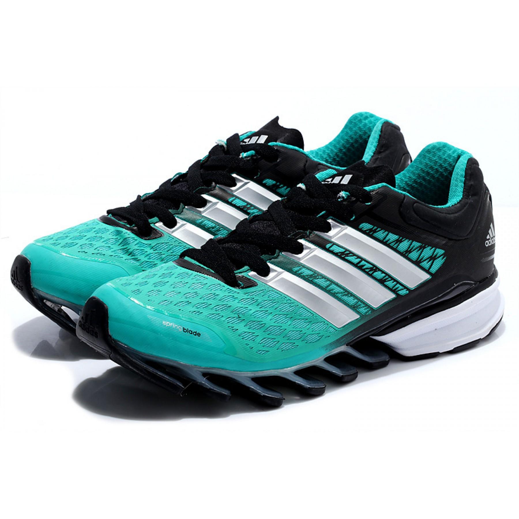 9365317cc8c Tênis Adidas SpringBlade FF Masculino Verde Jade e Preto Cod 0392