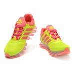 Tênis Adidas SpringBlade Drive 2.0 Feminino Cor Verde Limao e Rosa Cod 0688