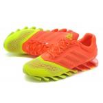 Tênis Adidas SpringBlade Drive 2.0 Masculino cor Verde Limao com Vermelho Cod 0689