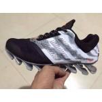 Tênis Adidas SpringBlade Drive 2.0 Masculino Preto com Cinza Malhado Cod 0686