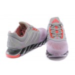 Tênis Adidas SpringBlade Drive 2.0 Feminino Cor Cinza Claro e Rosa
