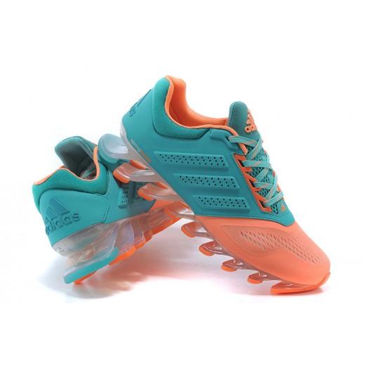 Tênis Adidas SpringBlade Drive 2.0 Feminino Cor Azul Claro e Rosa Cod 0545